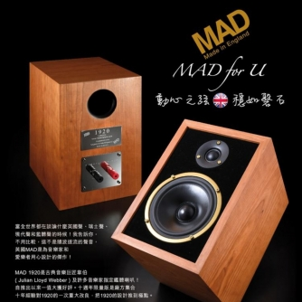 MAD SPEAKERS 1920 10th ANNIVERSARY LIMITED EDITION